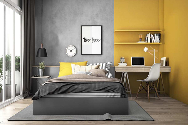 Phòng ngủ yên tĩnh, đầy đủ tiện nghi