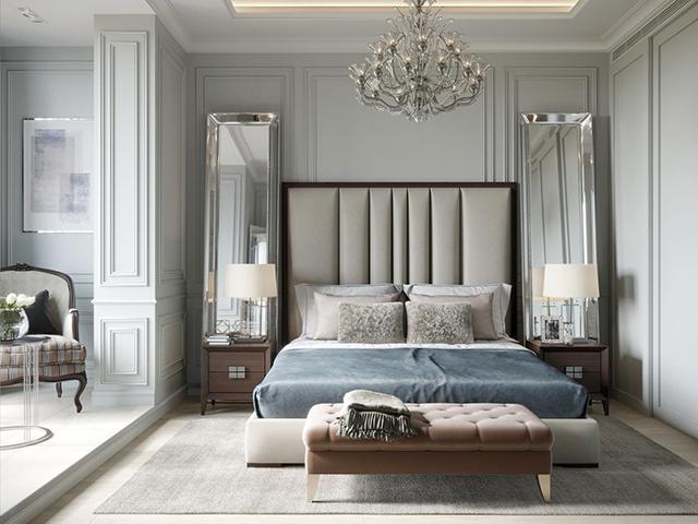 Phòng ngủ đơn giản phong cách Tân cổ điển