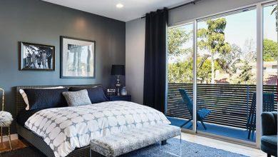 Thiết kế phòng ngủ có ban công rộng rãi