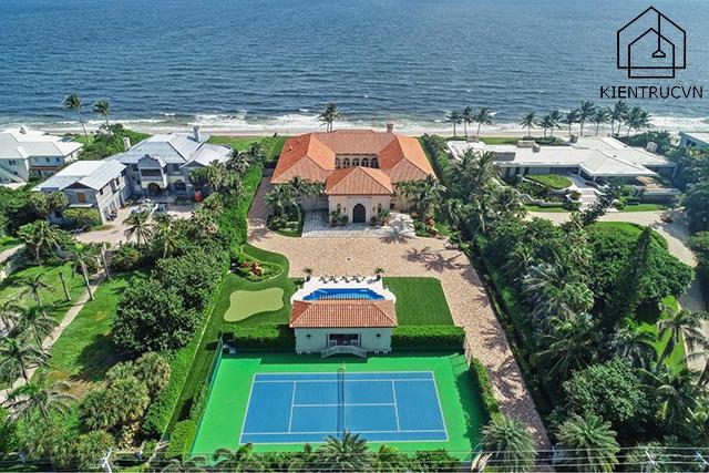 Manalapan Residence - Căn nhà đẹp nhất thế giới nằm ở ven biển mộng mơ