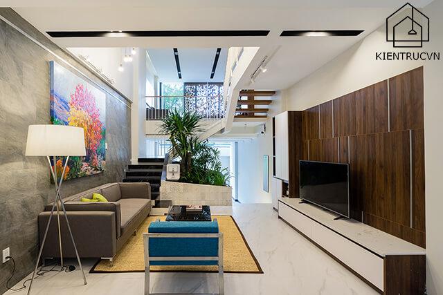 Gợi ý cách thiết kế không gian sinh hoạt chung cho nhà phố