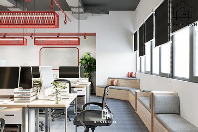 Nguyên tắc thiết kế khu vực hỗ trợ của văn phòng