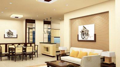Màu sơn nhà nội thất cho mệnh Thổ