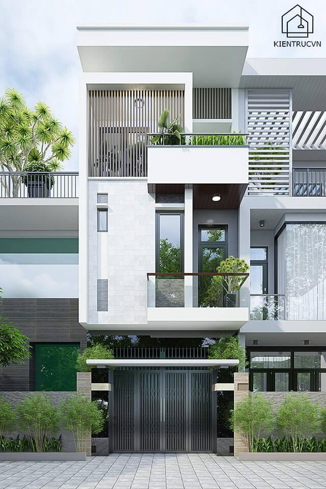 Mẫu thiết kế nhà phố 5×20 – Mẫu 4
