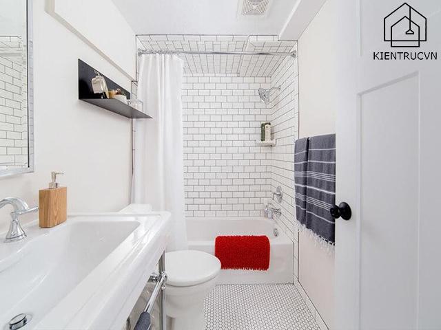 Nhà vệ sinh có diện tích vừa thiết kế như thế nào là phù hợp?
