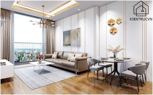 Nội thất hiện đại phổ biến ở các căn nhà chung cư