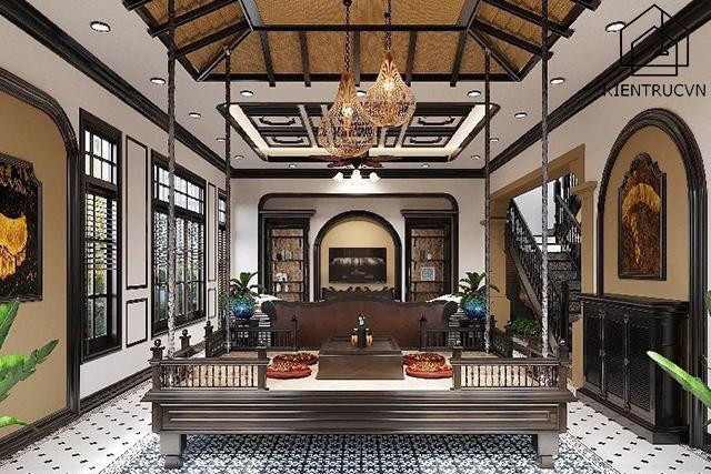 Phong cách thiết kế nội thất Đông Dương độc đáo