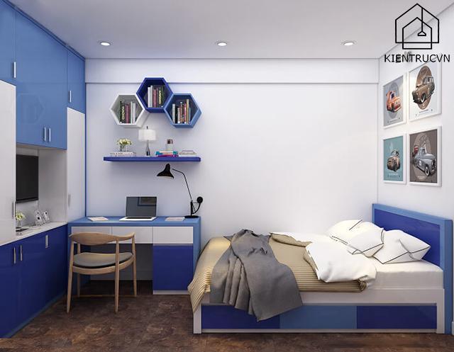 Gợi ý mẫu thiết kế phòng ngủ sang đẹp – nhà ống