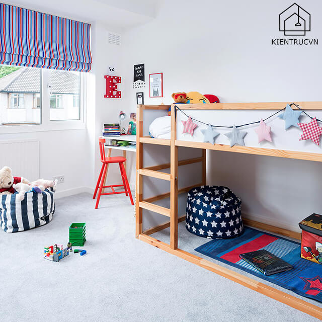 Phòng ngủ cho bé yêu cực đẹp