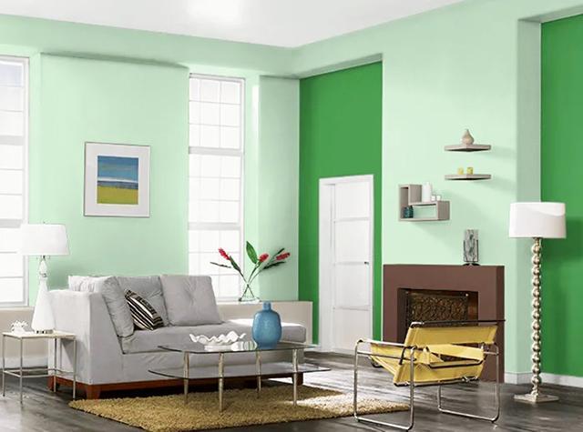 Màu sơn nhà cho người mệnh mộc hút tài vượng