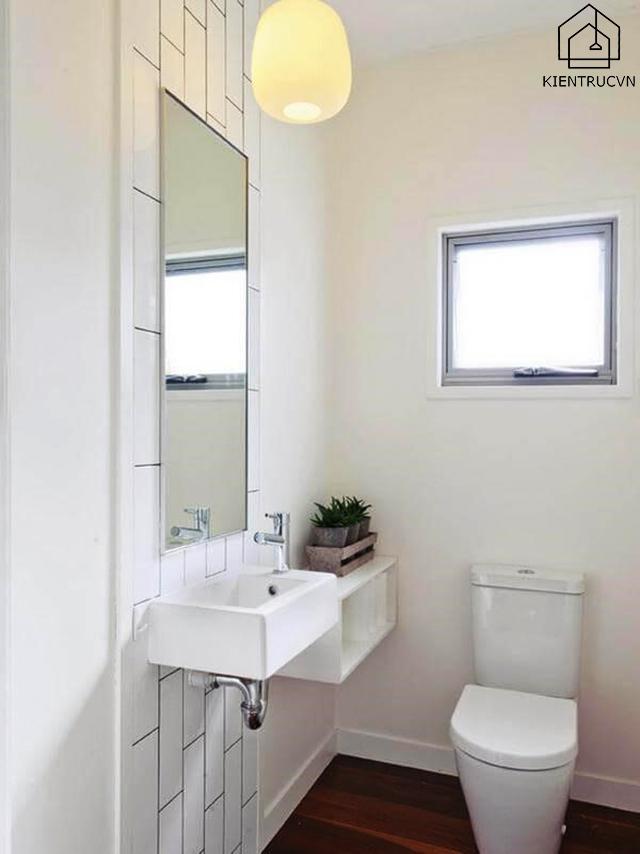 Những lưu ý khi thiết kế nhà vệ sinh có diện tích khiêm tốn