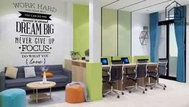 Thiết kế văn phòng nhỏ hẹp mang lại những lợi ích cực lớn