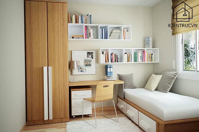 Thiết kế phòng ngủ nhỏ 10m2 mới mẻ, đẹp đẽ