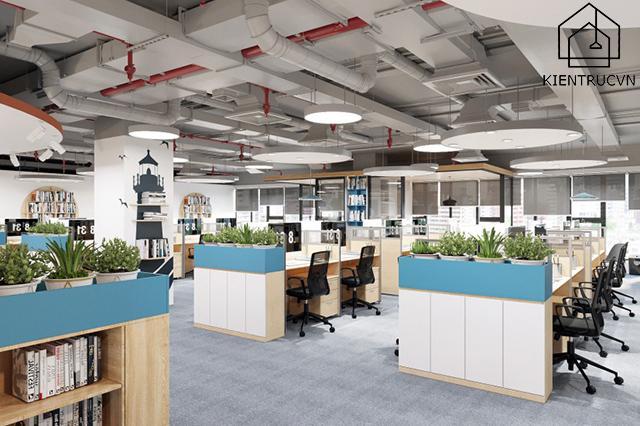 Nguyên tắc thiết kế văn phòng theo tiêu chuẩn