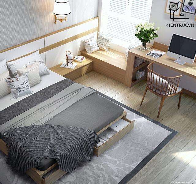 Trang trí cho phòng ngủ nhỏ đẹp mà đơn giản