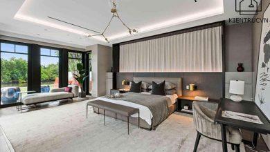 Thiết kế ánh sáng trong phòng ngủ master vô cùng quan trọng cho giấc ngủ an lành