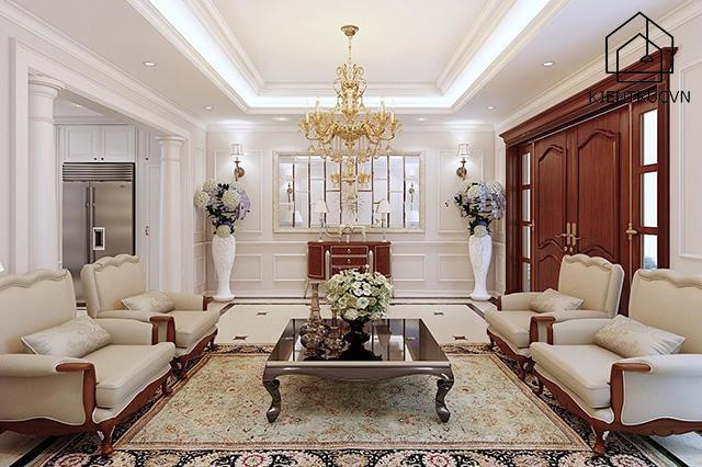 Nguyên tắc thiết kế nội thất đối xứng được nhiều gia đình lựa chọn