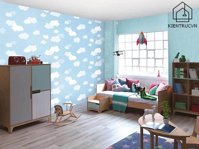 Những tấm giấy dán tường cho bé giúp phát huy khả năng tư duy và tưởng tượng có bé rất tốt
