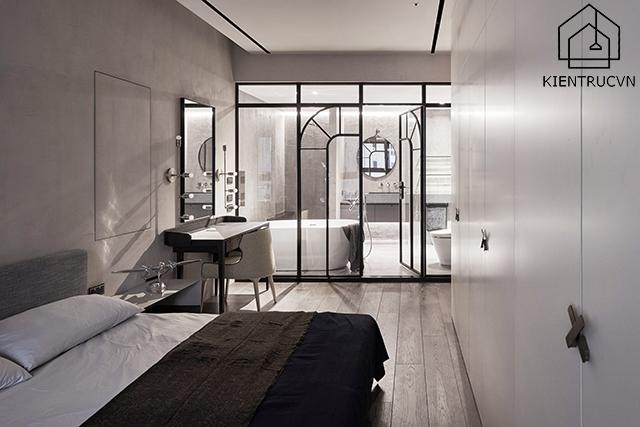 Phòng tắm trong phòng ngủ master mang vai trò rất quan trọng