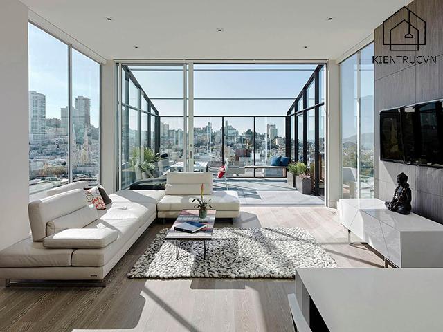 Đừng để tỷ lệ cửa sổ và sàn trong phòng quá thấp