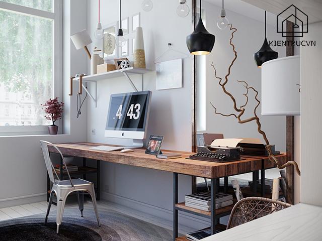Hãy lựa chọn màu sắc phòng làm việc cho phù hợp giúp nâng cao độ tập trung