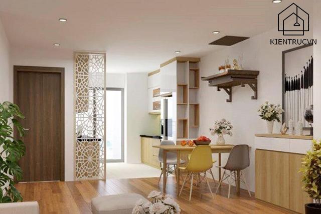 Đèn led âm trần tô điểm cho căn chung cư