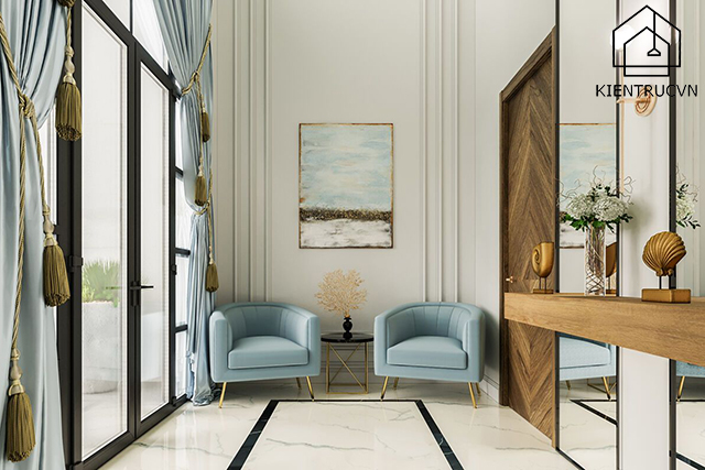 Thiết kế nội thất tân cổ điển sẽ còn tiếp tục mạnh cả hiện tại và tương lai