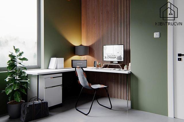 Với phòng làm việc diện tích nhỏ, hãy sử dụng các đồ nội thất đa năng nhé