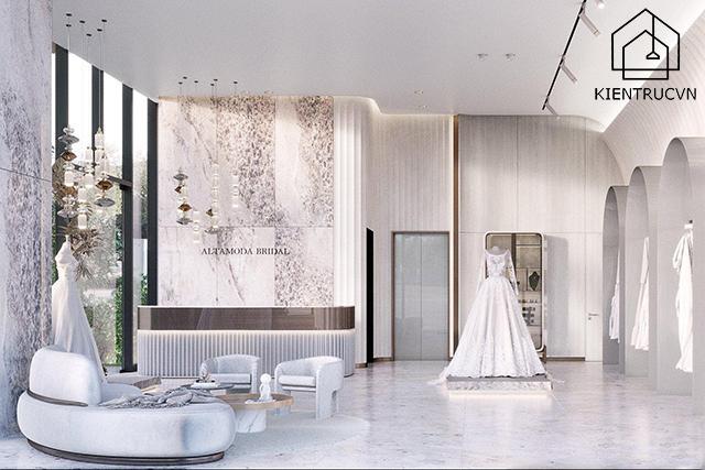 Những lợi ích cực hay của việc thiết kế studio áo cưới đẹp
