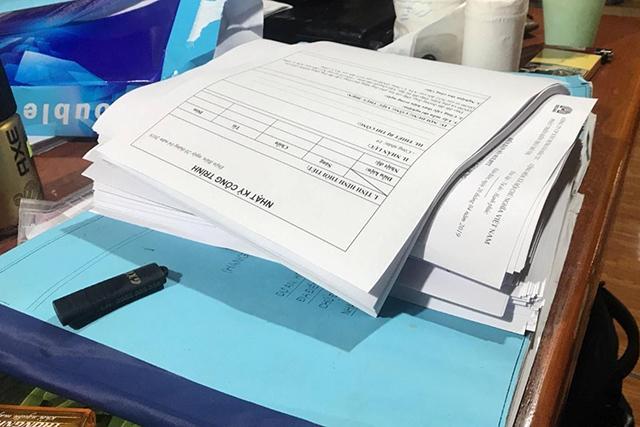 Các mục cần có trong nhật ký thi công